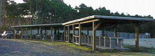 Photo of the 100 and 200 yard ranges